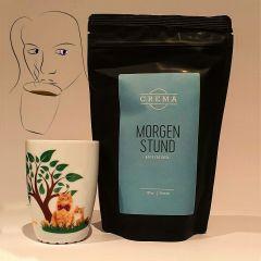 Morgenstund Kaffe og Jesper krus