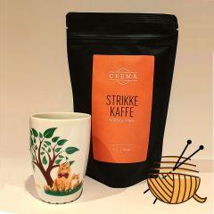 Strikke kaffe og  Jesperpus krus